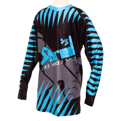 ShredXS Tiger Long Sleeve Cycle Jersey